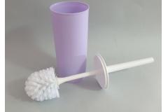 Posuda i četka za WC šolju Sanitary ware's window 37x8,5cm, lila  CH60221