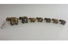 Figura slon keramički  7/1  8,5x5,5cm  CH60236