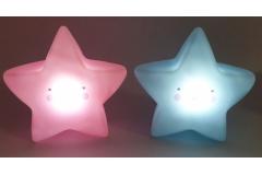 Zvijezda svjetleća mini lampa  15x15cm  CH60272