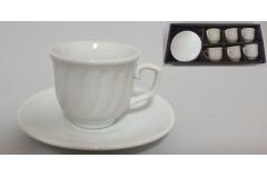 Šoljice za kavu 6x8cm  6/1 CH60324-A