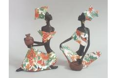 Figura afrikanka 23x15cm CH60359
