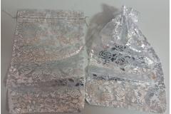 Vrećica darovna til 30x20cm,srebrna  (100 komada u pakovanju) CH60469-S