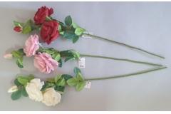 Cvijeće umjetno ruža 74cm   CH60507