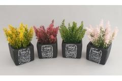 Umjetno cvijeće u saksiji CH60545