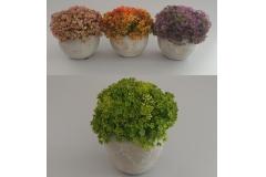 Umjetno cvijeće u saksiji 17,5x12x9,5cm CH60547