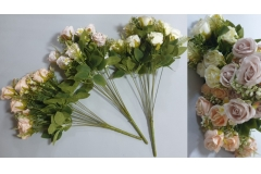 Cvijeće umjetno buket od 11 ruža  50x5cm   CH60510