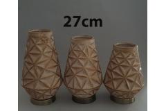 Vaza dekorativna 27x15cm CH60635