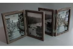 Okvir za 4 slike dvostrani  14x18,5x3cm  CH6091