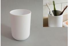Posuda za četkice za zube Sanitary ware's window  7,5x10cm  bijela  CH6286