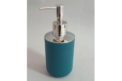 Posuda za tekući sapun Sanitary ware's window 18x7,5cm tirkizno plava  CH6293