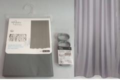 Zavjesa za tuš kadu Sanitary ware's window 180x180cm siva  CH6296
