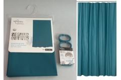 Zavjesa za tuš kadu Sanitary ware's window 180x180cm tirkizno plava  CH6297
