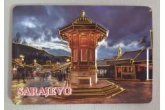 Magnet za frižider  Sarajevo  7x10cm CH6342