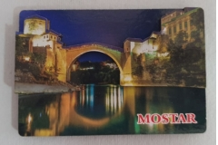 Magnet za frižider 5D Mostar  8x5,5cm CH6346