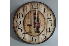 Sat zidni drveni  34cm  CH6404