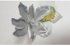 Božićna dekoracija cvijet 14x16x19cm  CH6637