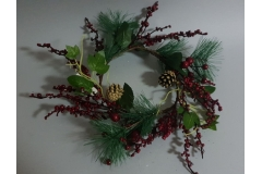 Božićna dekoracija vijenac 35cm  CH6647