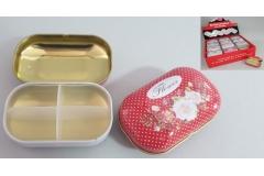 Kutija metalna za tablete 8,5x3x6cm  CH6789