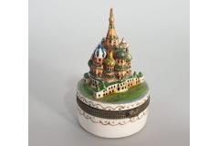 Kutijica keramička suvenir  Moskva 11x5cm CH6830-A