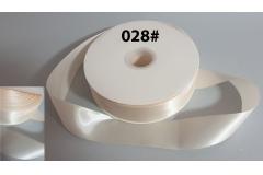 Traka za pakiranje satenska 4cm x 91m , antique white  CH6839-028#
