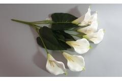 Cvijeće umjetno kala buket 7 cvjetova 60cm  CH6872