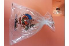 Vrećica PVC 40x60cm, novogodišnji design 50/1 CH43987