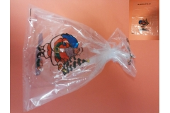 Vrećica PVC 30x50cm, novogodišnji design 50/1 CH43986