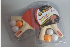Rekete+loptice za stolni tenis set CH9010