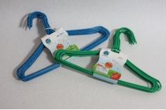 Vješalice za odjeću metalne  plastificirane  29cm 10/1  CH9519