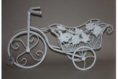 Stalak za cvijeće biciklo metalno 53x30cm   CH9716