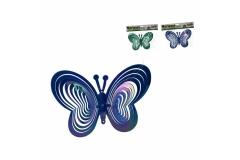 Vrtna dekoracija leptir 21x15,5cm GI88613