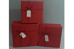Kutija darovna 3/1  21x21x9,5cm   HR0037