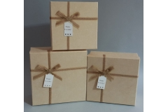 Kutija darovna 3/1  21x21x9,5cm   HR0038
