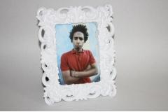 Okvir za sliku  keramički bijeli   13x18cm    IM23435