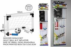 Set za nogomet gol+lopta+pumpa za loptu     MK74917
