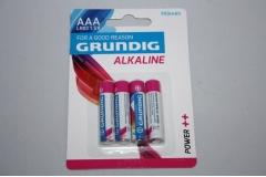 Baterije Grundig AAA alkalne 4/1 ST0084