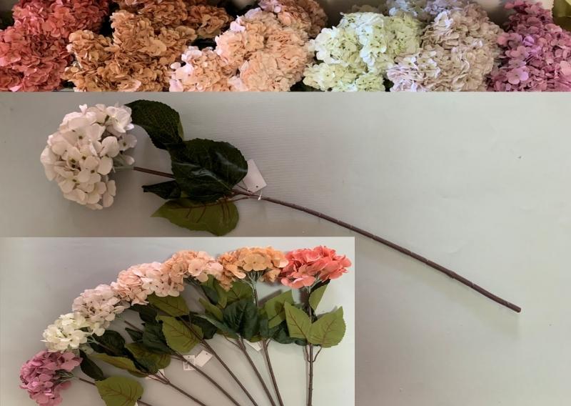 Cvijeće umjetno hortenzija 76x16cm  CH60662