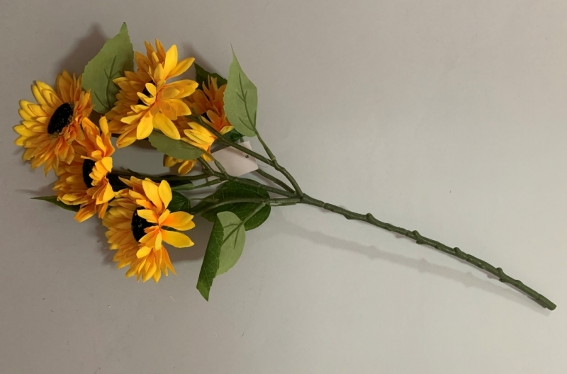 Cvijeće umjetno  5 suncokreta  55cm  CH60668
