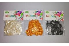 Baloni bež, zlatni i srebreni 10/1 CH6844