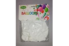 Baloni bijeli 10/1 CH50963