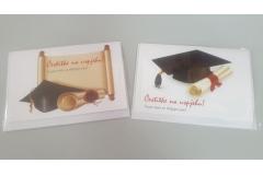 Čestitka+koverta sorto za diplomski  CH49999-D