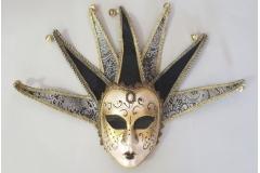 Venecijanska maska 35x20cm ,crna CH60461-C
