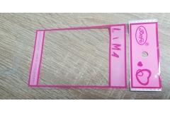 Vrećica za pakovanje 100/1 17cm  12,5x9cm  CH2657-B