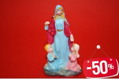 Figura ker. Gospa sa dječicom 7,5cm CH4241  -50%