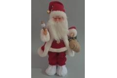 Djed Božićnjak na baterije 40cm CH50351-B