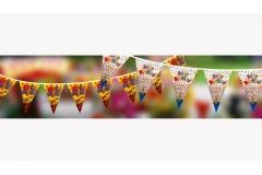 Zastavice rođendanske ,mix dizajn  CH50961