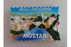 Suvenir magnet keramički   Mostar  7x5cm   CH52083