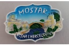 Suvenir magnet keramički  Mostar  7,5x5cm   CH52087