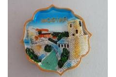 Suvenir magnet keramički Mostar 7x7cm  CH52088