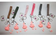 Privjesak za ključeve ,flamingo   CH52456